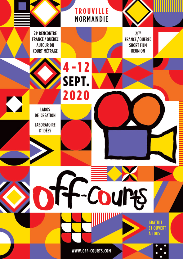 affiche Off Courts 2020
