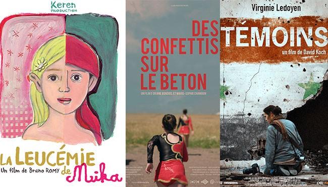 Projection de 3 films soutenus, tournés et produits en Normandie