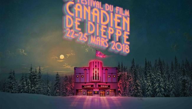 © Affiche du festival du film de Dieppe 2018