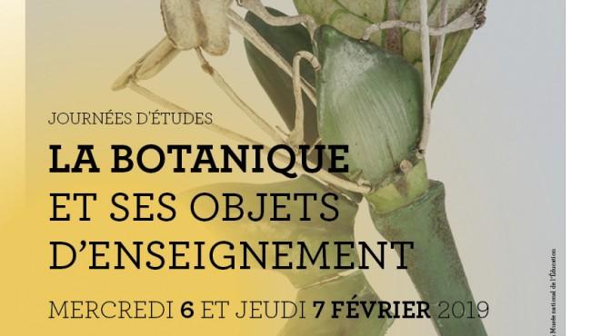 Journées d'études : La botanique et ses objets d'enseignement